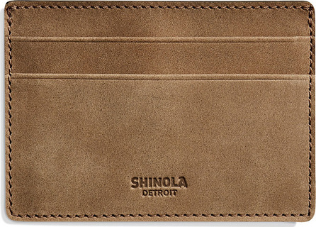 Shinola Men's Outrigger Leather ID Card Case
