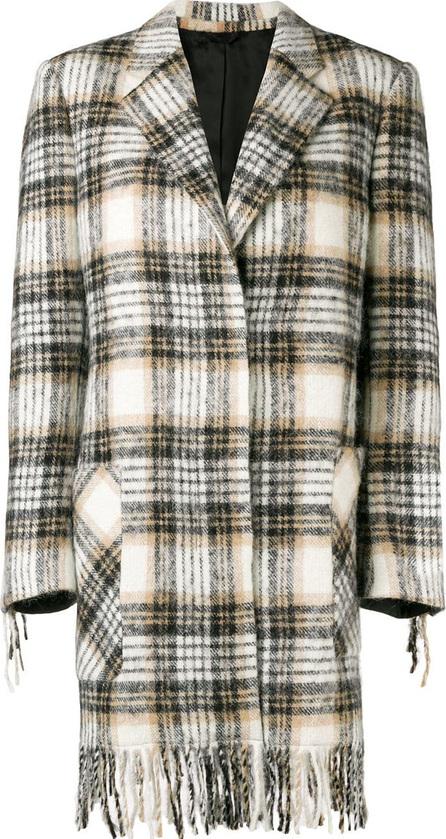 Calvin Klein 205W39NYC Checked coat