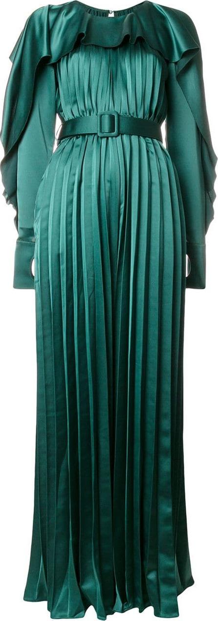 Self Portrait Pleated maxi dress