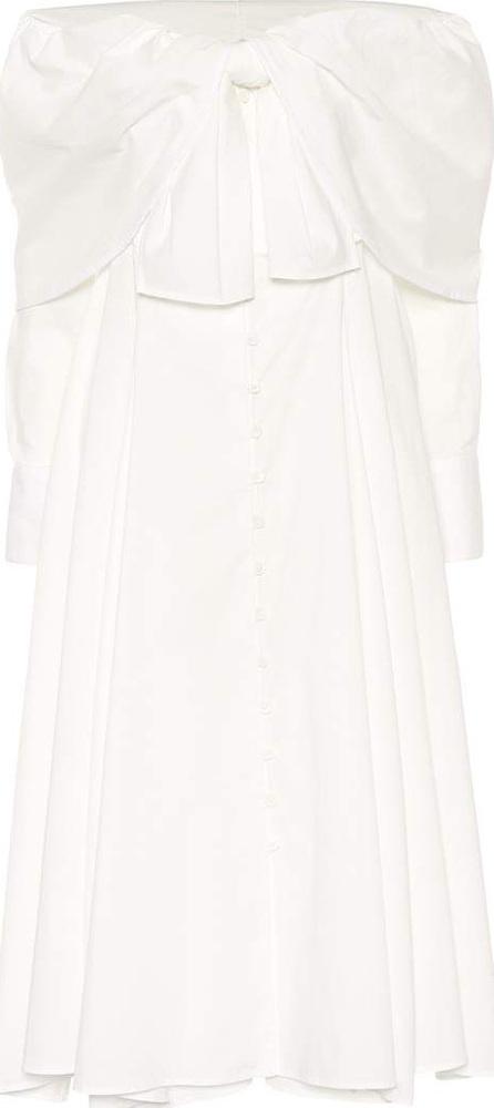 Rosie Assoulin Booby Trap stretch cotton dress