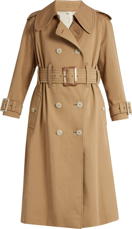 Alexachung Belted double-breasted trench coat
