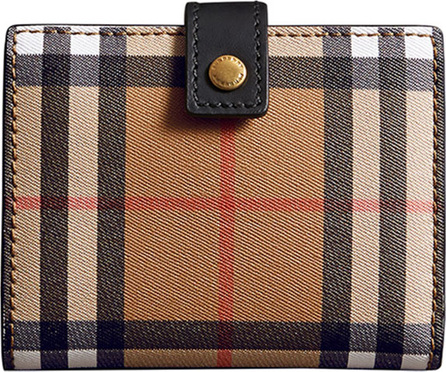 Burberry London England Lakeside Vintage Check Wallet