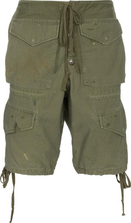 Greg Lauren Army Cargo Shorts