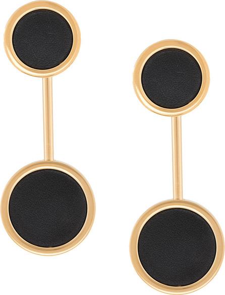 Jil Sander Circle earrings