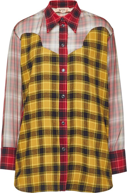 N°21 Silk Chiffon Shirt