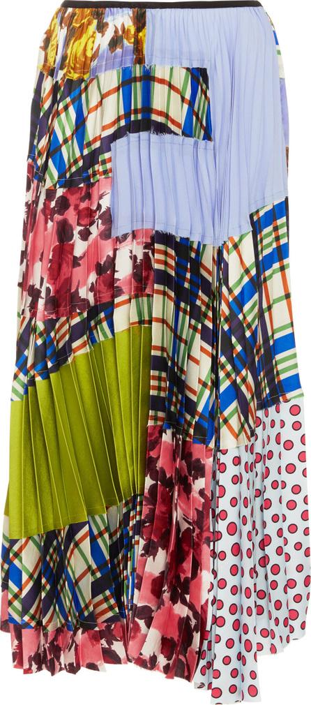Marni Multi Print Midi Skirt