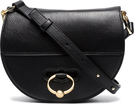 J.W.Anderson Black Latch Leather Cross Body Bag