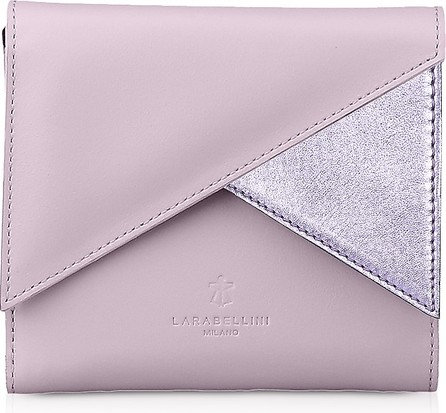Lara Bellini Pink Leather Vela Women's Wallet