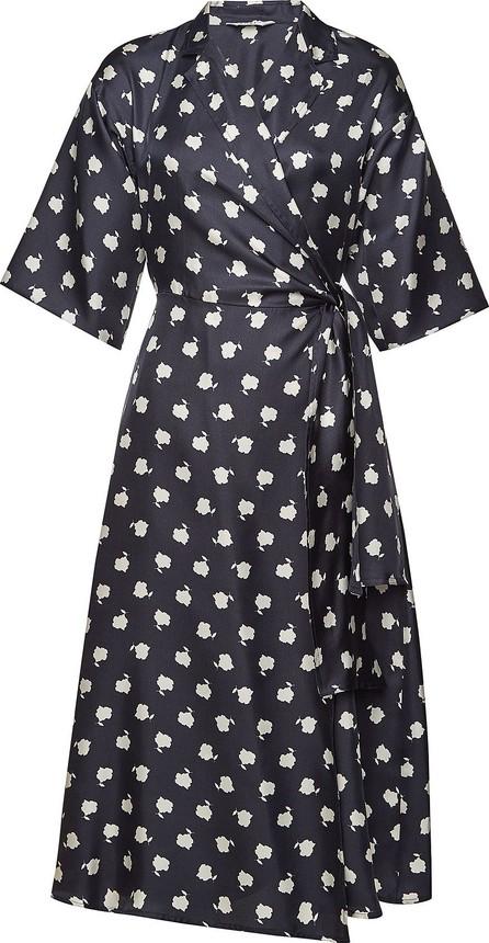 Max Mara Printed Wrap Dress