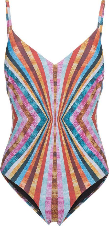 Mary Katrantzou Sequin striped one piece