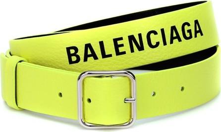 Balenciaga Logo leather belt