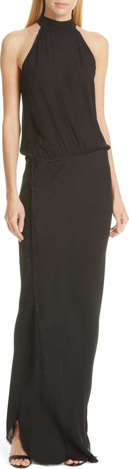 Nili Lotan Alison Blouson Evening Dress