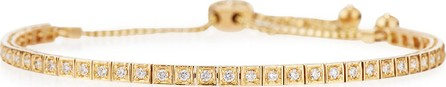 Cassidy Diamonds 18K Yellow Gold Square Diamond Bracelet