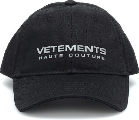 Vetements Logo cotton baseball cap