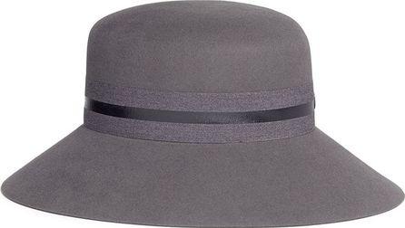 Maison Michel 'New Kendall' rabbit furfelt cloche hat