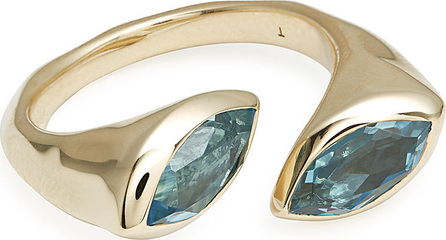 IPPOLITA 18k Prisma Bypass Marquise Ring