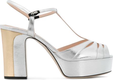 Fendi Mid-heel platform sandals