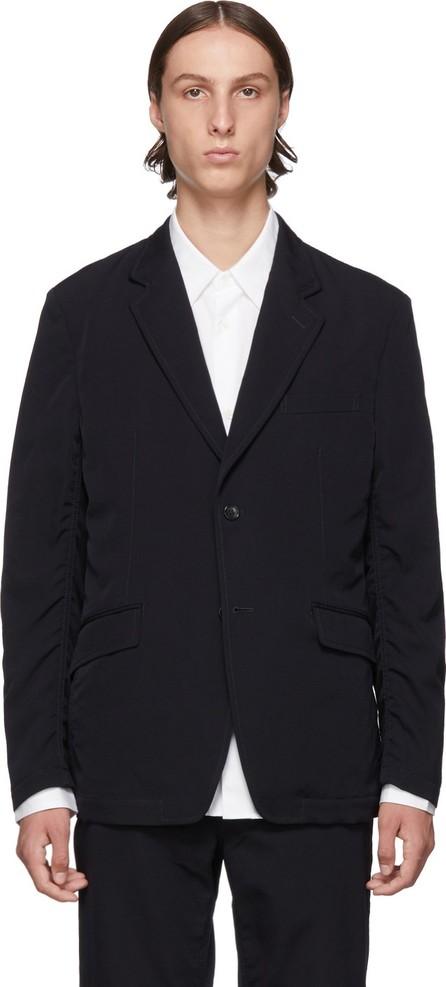 Comme des Garçons Homme Navy Wool Blazer