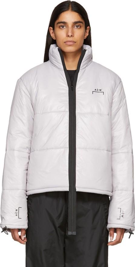 A-Cold-Wall* Grey Down Puffa Coat