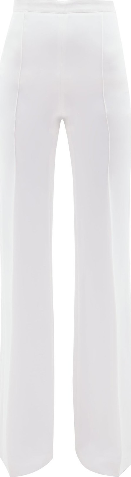 Andrew Gn High-rise wide-leg trousers