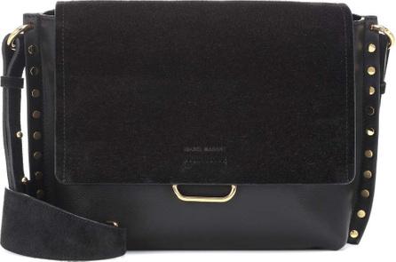 Isabel Marant Asli leather and suede shoulder bag