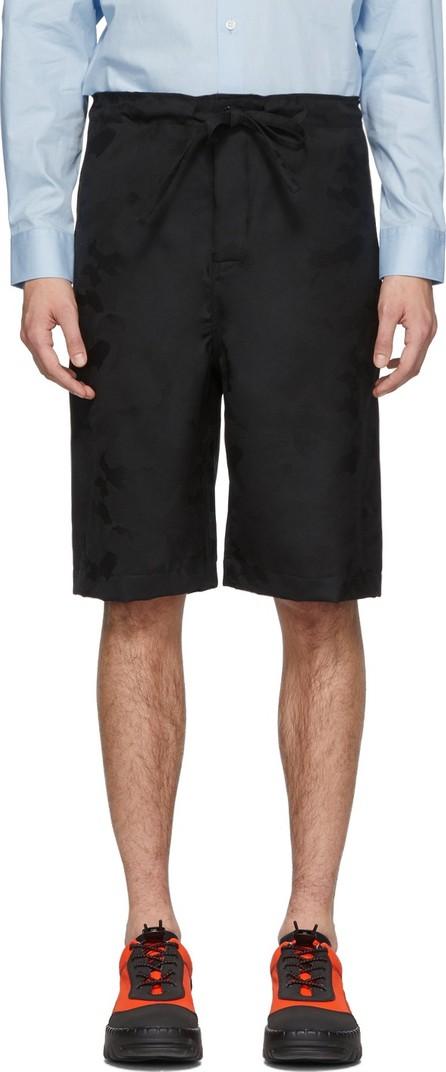 Comme Des Garçons Homme Plus Black Camo Shorts