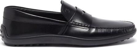 Tod's 'Gomma' leather penny loafers
