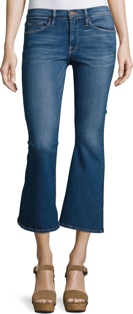 FRAME DENIM Le Crop Bell Kick-Flare Jeans