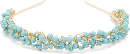 Rosantica Bouquet bead-embellished headband