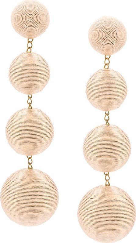 Rebecca de Ravenel bead drop earrings