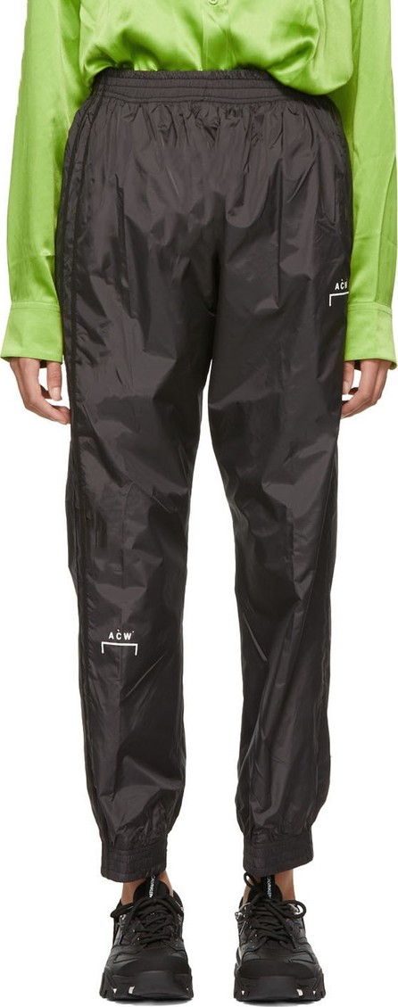 A-Cold-Wall* Black Heavyweight Technical Storm Lounge Pants