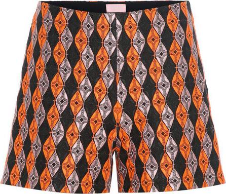 GIAMBA Jacquard shorts