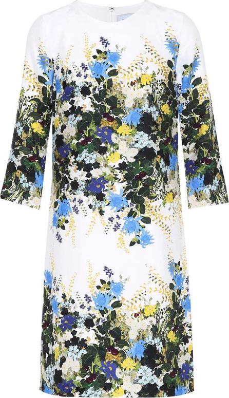 Erdem Floral-printed silk minidress