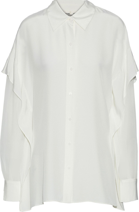 DIANE von FURSTENBERG Layered silk top