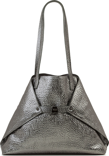 Akris AI Medium Hammered Shoulder Bag