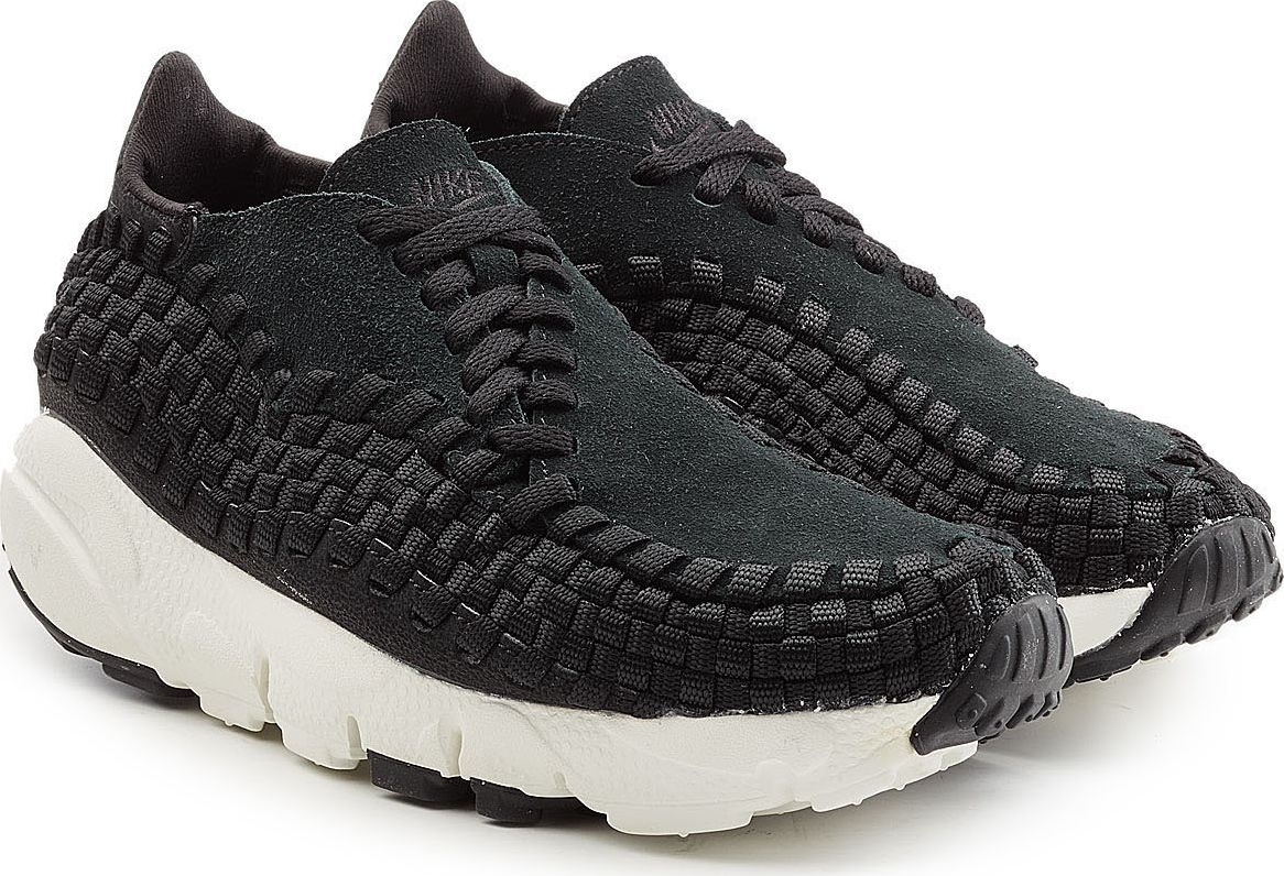 Nike - Air Footscape Woven Suede Sneakers