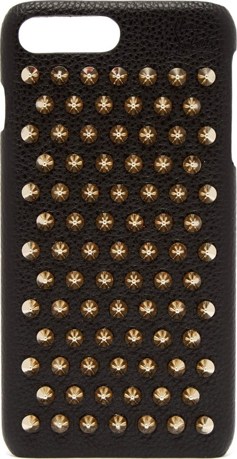 9321fc1bd99 Christian Louboutin Loubiphone leather iPhone® 7   8 plus case - Mkt
