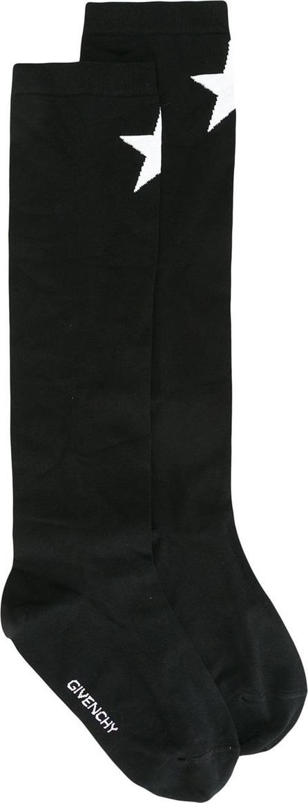 Givenchy star print socks