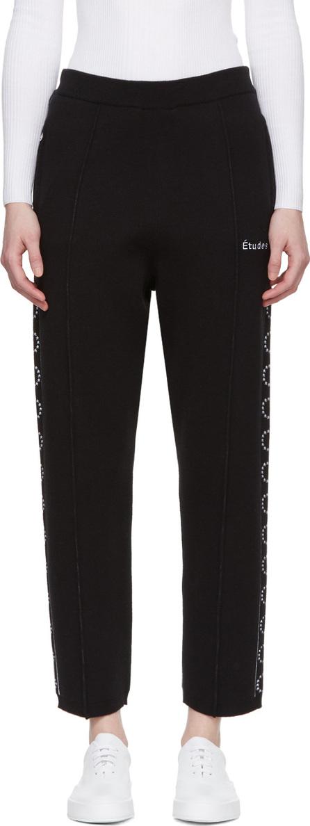 Etudes Black Time-Out Lounge Pants