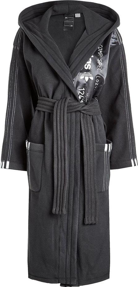 Adidas Originals by Alexander Wang Fleece Hooded Robe Coat