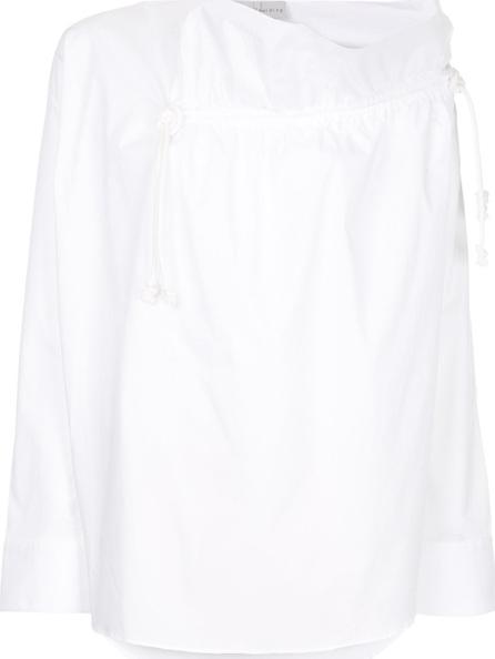 Palmer / Harding Gallery ruffle neck shirt