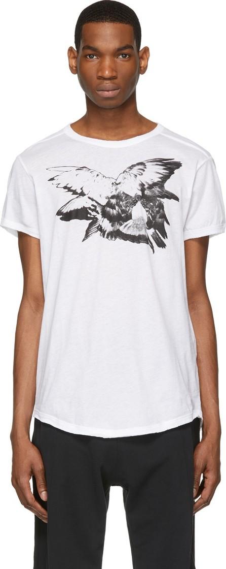 Ann Demeulemeester White 'Wings' T-Shirt