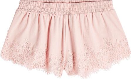 FENTY PUMA by Rihanna Lace Cotton Shorts