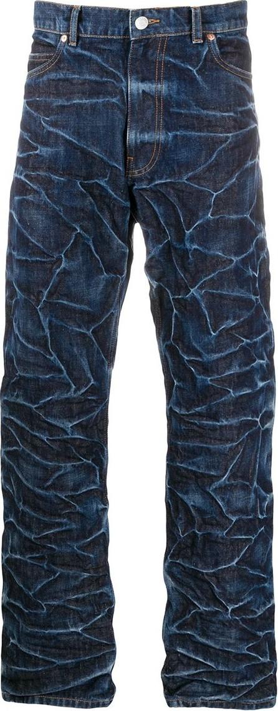 Martine Rose Wrinkle effect jeans