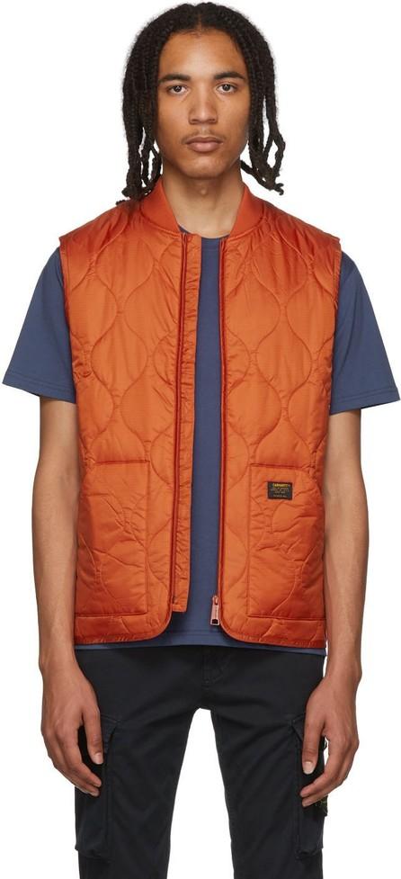 Carhartt Work In Progress Orange Volta Liner Vest