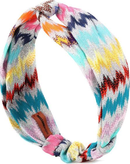 Missoni Metallic knitted headband