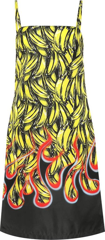 Prada Banana-printed dress