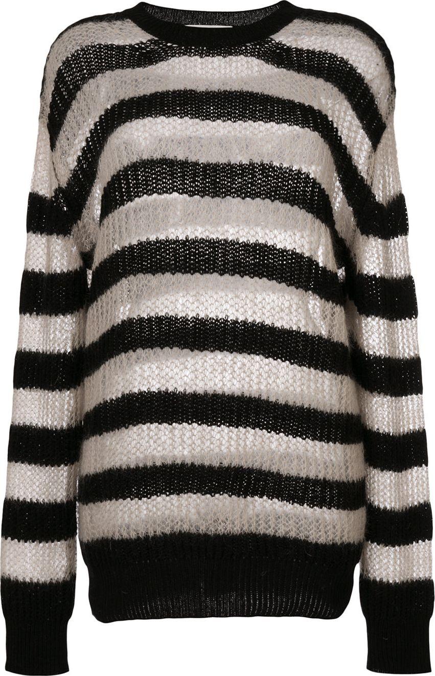 McQ - Alexander McQueen - striped roll neck jumper