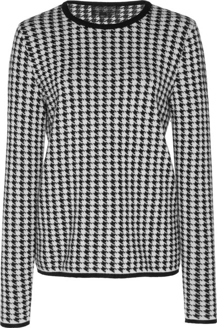 Giambattista Valli Hounds tooth Top