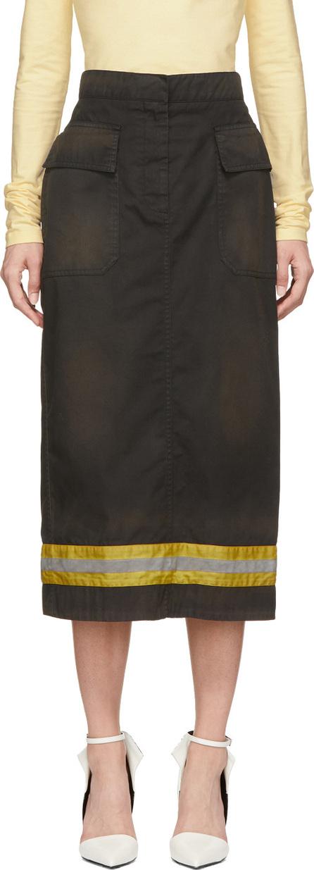 Calvin Klein 205W39NYC Black Fireman Skirt